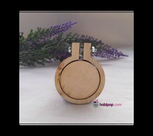 HOBİPOP - Ahşap Kolye ve Anahtarlık Aparatı 3