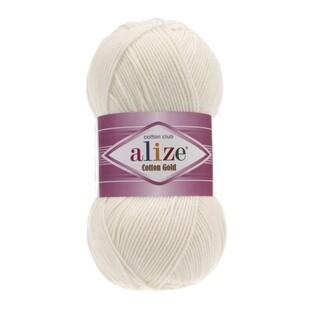ALİZE - Alize Cotton Gold 62 Açık Krem
