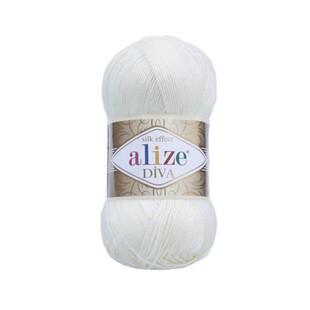ALİZE - Alize Diva 1055 Şeker Beyazı