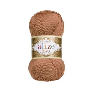ALİZE - Alize Diva 261 Kızıl Kahve