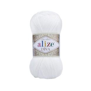 ALİZE - Alize Diva 55 Beyaz