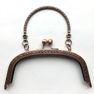 HOBİPOP - Çanta Kulpu 16 cm Antik Bakır