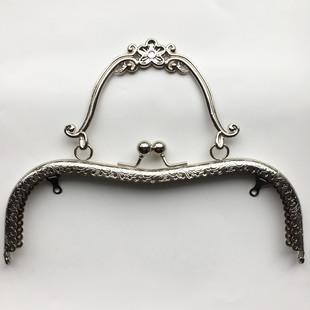 HOBİPOP - Çanta Kulpu 21 cm Antik Gümüş