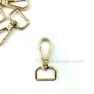 HOBİPOP - Çanta ve Anahtarlık Kancası Gold