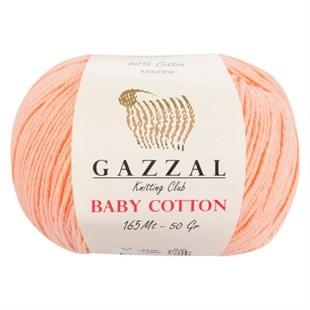 GAZZAL - Gazzal Baby Cotton Örgü İpi 3412