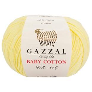 GAZZAL - Gazzal Baby Cotton Örgü İpi 3413