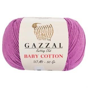 GAZZAL - Gazzal Baby Cotton Örgü İpi 3414