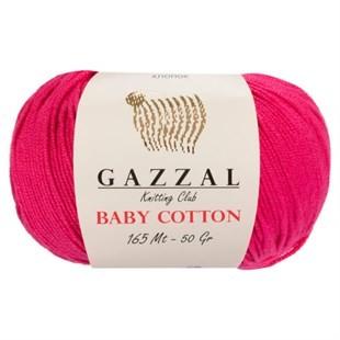 GAZZAL - Gazzal Baby Cotton Örgü İpi 3415