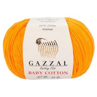 GAZZAL - Gazzal Baby Cotton Örgü İpi 3416