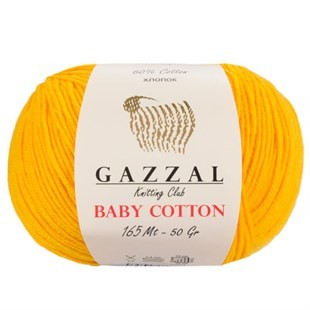 GAZZAL - Gazzal Baby Cotton Örgü İpi 3417