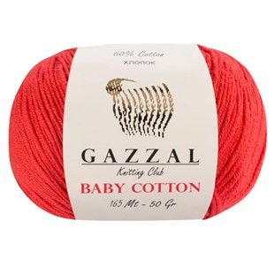 GAZZAL - Gazzal Baby Cotton Örgü İpi 3418