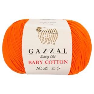 GAZZAL - Gazzal Baby Cotton Örgü İpi 3419