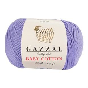 GAZZAL - Gazzal Baby Cotton Örgü İpi 3420