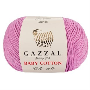 GAZZAL - Gazzal Baby Cotton Örgü İpi 3422