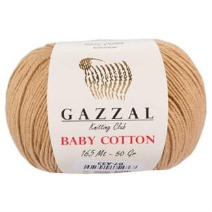 GAZZAL - Gazzal Baby Cotton Örgü İpi 3424
