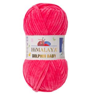 - Himalaya Dolphin Baby Kadife El Örgü İpi 80324 Şeker Pembe