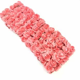 - Kağıt Gül Süsleme Çiçeği 144 lü Yavru Ağzı