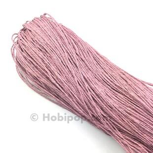 HOBİPOP - Kağıt İp 230 Gram Koyu Pudra
