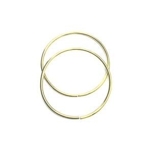 HOBİPOP - Metal Halka Çanta Sapı Gold Küçük