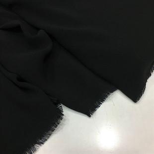 - Namaz Başörtülük Krep Kumaş Siyah