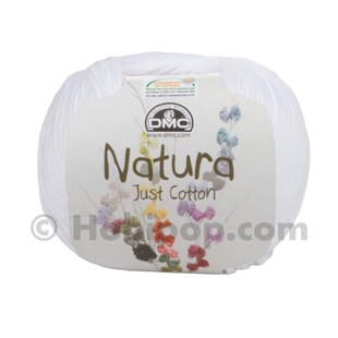 DMC - Natura Just Cotton El Örgü İpi N01 Ibiza