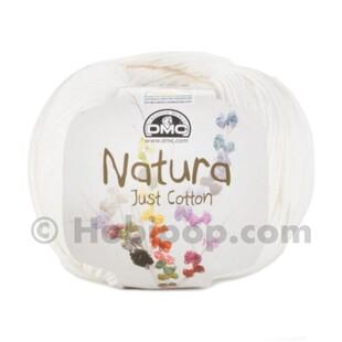 DMC - Natura Just Cotton El Örgü İpi N02 Ivory