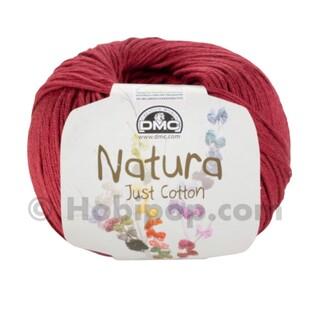 DMC - Natura Just Cotton El Örgü İpi N34 Bourgogne