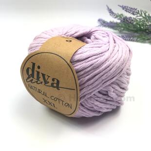 DİVA - Natural Cotton XXL Tarama Makrome İpi Lila