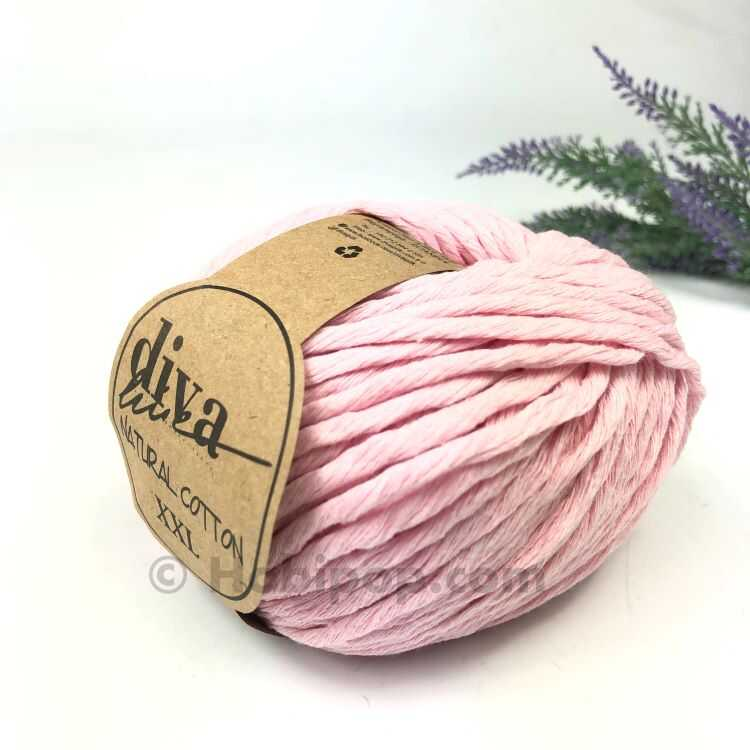DİVA NATURAL COTTON BABY BEBE İPİ 2130 TOZ PEMBE Natural Cotton ... | 750x750