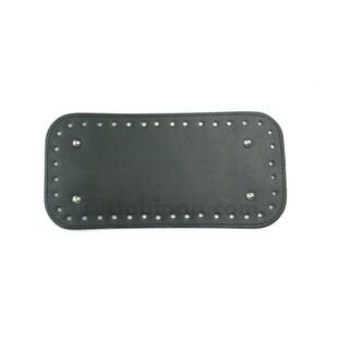 - Örgü Çanta Tabanı 25x12 cm Siyah