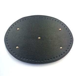 - Örgü Çanta Tabanı Oval Siyah 02