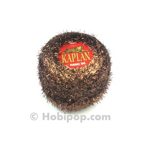 KAPLAN - Panç İpi (Punch) Simli Metalik Kahverengi