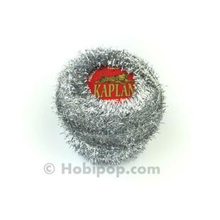 KAPLAN - Panç İpi (Punch) Simli Metalik Gümüş