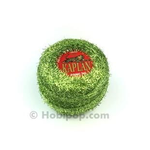 KAPLAN - Panç İpi (Punch) Simli Metalik Yeşil