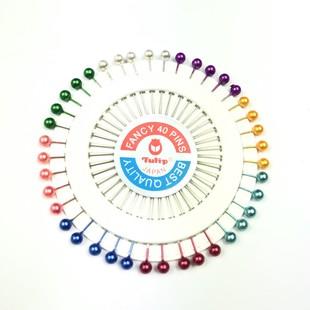 TULİP - Renkli Başlı Toplu İğne
