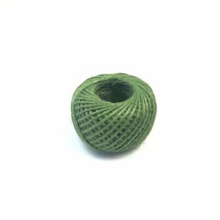 - Renkli Jüt İp Paket İpi Yeşil 50 g