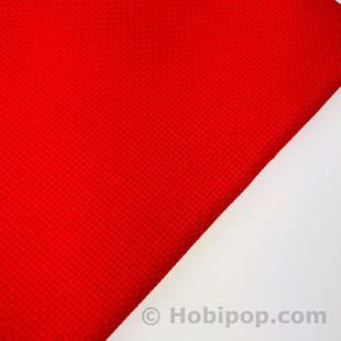 HOBİPOP - Seccadelik Etamin Kumaş Kırmızı