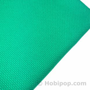 HOBİPOP - Seccadelik Etamin Kumaş Yeşil