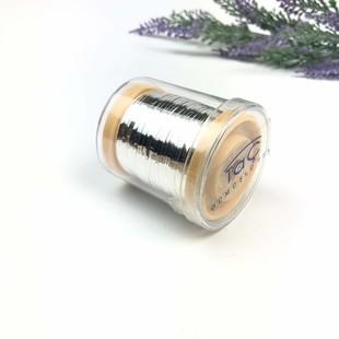 TAÇ - Tel Kırma Teli Gümüş Renk 100 Gram