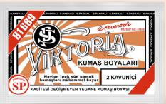Viktoria Toz Kumaş Boyası 02 Kavuniçi