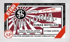 VİKTORİA - Viktoria Toz Kumaş Boyası 10 Vişne Çürüğü