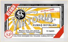VİKTORİA - Viktoria Toz Kumaş Boyası 11 Sarı
