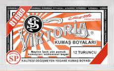 VİKTORİA - Viktoria Toz Kumaş Boyası 12 Turuncu