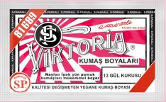 Viktoria Toz Kumaş Boyası 13 Gül Kurusu