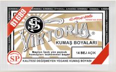 VİKTORİA - Viktoria Toz Kumaş Boyası 14 Bej Açık