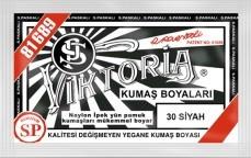 VİKTORİA - Viktoria Toz Kumaş Boyası 30 Siyah