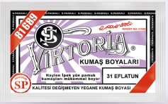 VİKTORİA - Viktoria Toz Kumaş Boyası 31 Eflatun