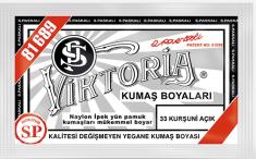 VİKTORİA - Viktoria Toz Kumaş Boyası 33 Kurşuni Açık