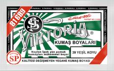 VİKTORİA - Viktoria Toz Kumaş Boyası 39 Yeşil Koyu