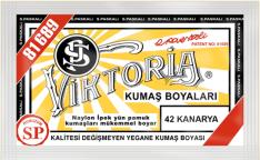 VİKTORİA - Viktoria Toz Kumaş Boyası 42 Kanarya
